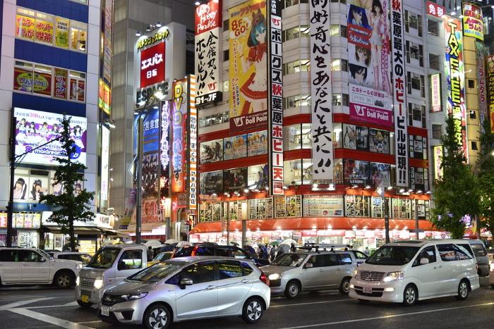 Akihabara meta di un viaggio in Giappone