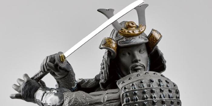 Samurai dal Giappone medioevale