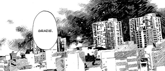 Città giapponese manga