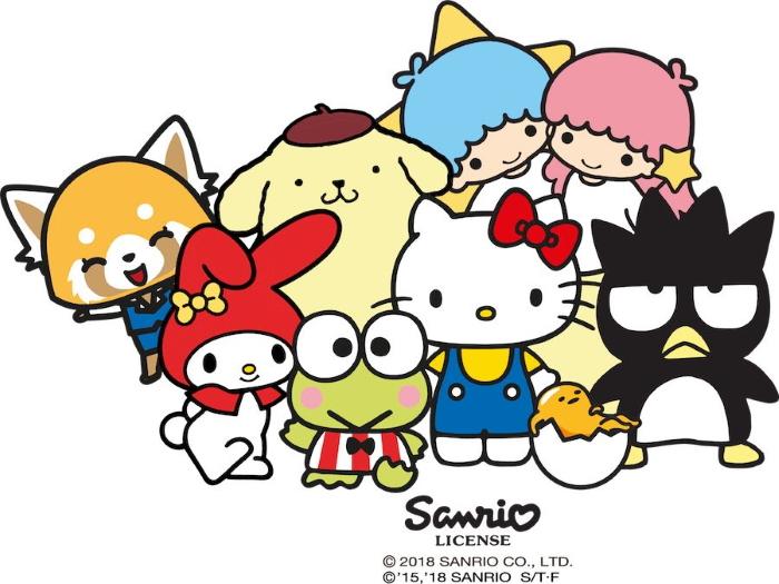 Hello Kitty e i personaggi Sanrio