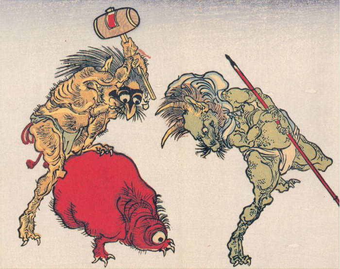 gli youkai, mostri giapponesi