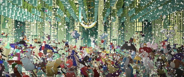 Cartone animato giapponese Belle