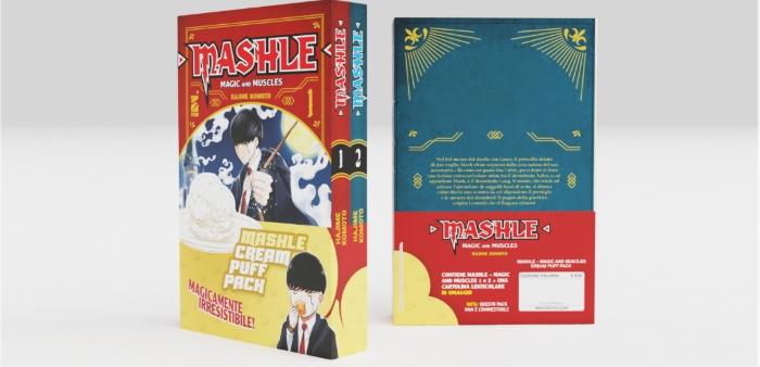 L'edizione italiana di Mashle